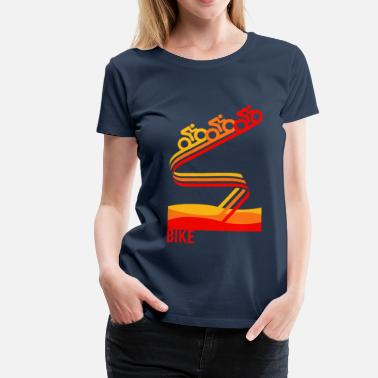 Retro Cycling Retrobike - Women's Premium T-Shirt