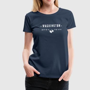 Washington - Premium-T-shirt dam