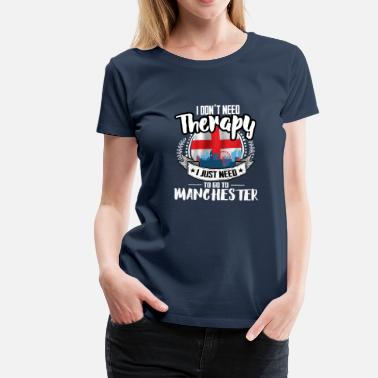 Manchester Therapy Manchester - Women's Premium T-Shirt