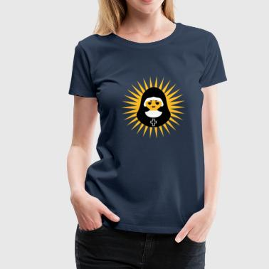Nun Nonne | Nun | Christ | Star - Women's Premium T-Shirt