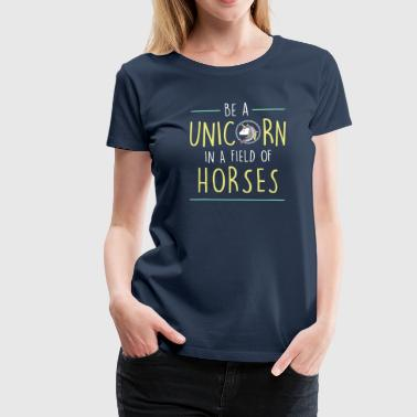 Field of horses - Women's Premium T-Shirt