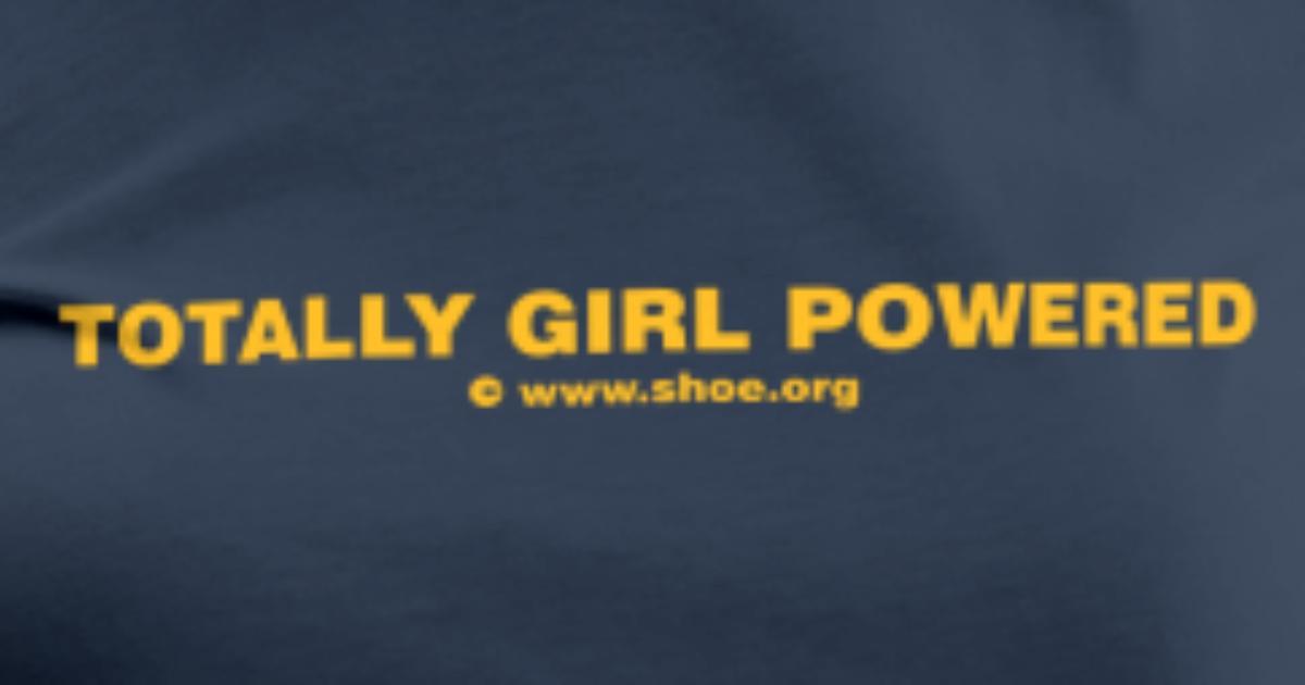 ACHTUNG LESBEN POWER: Totally Girl Powered Motiv für lesbische ...