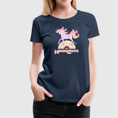 VGN Unicorn Magic Cuts - Premium-T-shirt dam