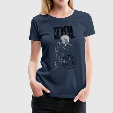 Hot In The City Billy Idol - Frauen Premium T-Shirt