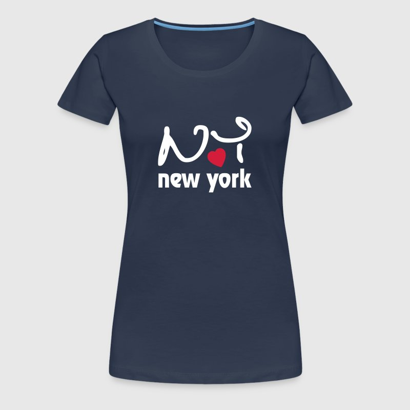 I Love New York - T-shirt Premium Femme