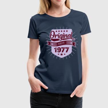 Original 1977 - Frauen Premium T-Shirt