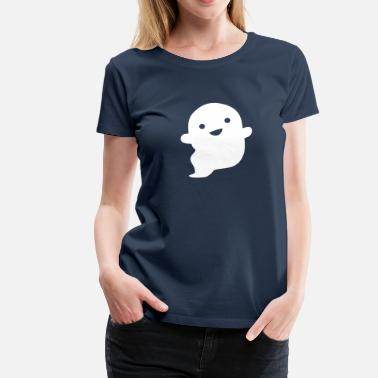 Ghost Cute Ghost - Women's Premium T-Shirt