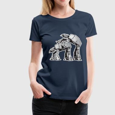 AT-AT Robot sex STAR, WARS - Frauen Premium T-Shirt