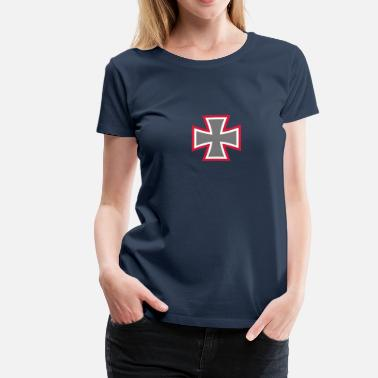 Iron Cross Iron Cross - Frauen Premium T-Shirt