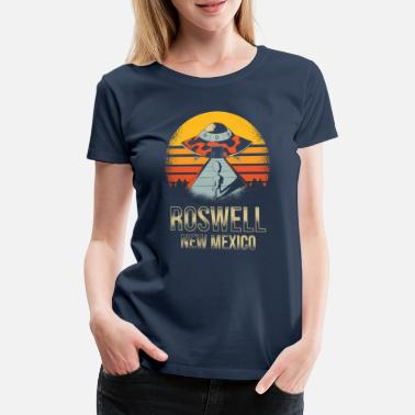 Roswell New Mexico UFO-alien - Vrouwen premium T-shirt
