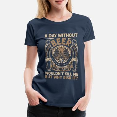 Scorer A day without bee - Women's Premium T-Shirt