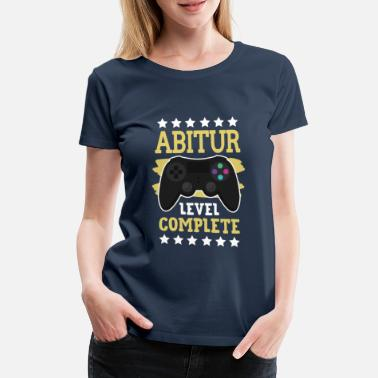 Abitur Level Complete - Women's Premium T-Shirt