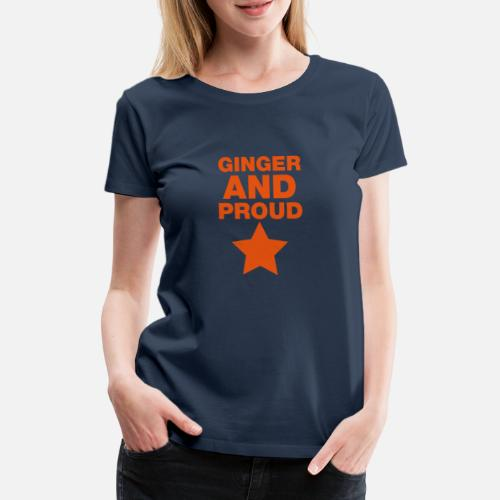 ginger and proud star by chamers spreadshirt