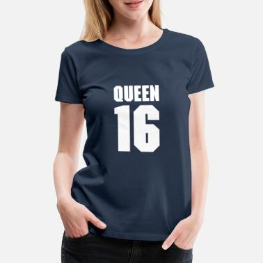 Teamplayer Queen 16 Teamplayer T-shirts - Dame premium T-shirt