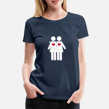 Sports Lover Lesbian lovers Sports wear - Women's Premium T-Shirt