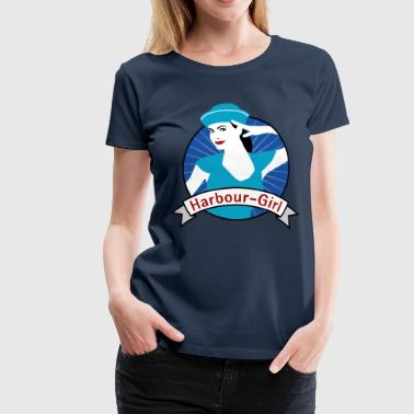 harbour_girl_04201504 - Frauen Premium T-Shirt