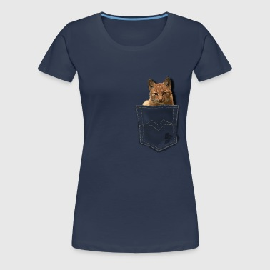 pocket lynx by customstyle - T-shirt Premium Femme