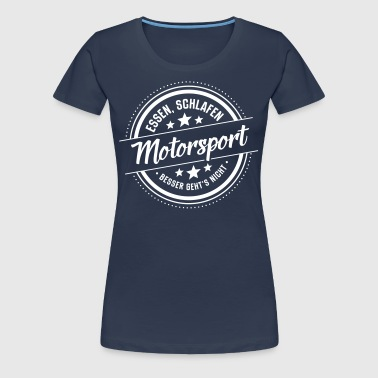 Motorsport - Frauen Premium T-Shirt