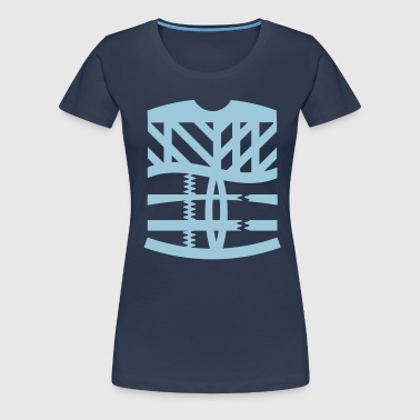 an abstract graphic tattoo - Women's Premium T-Shirt
