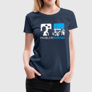 Problem Solved Tracker  - Women's Premium T-Shirt