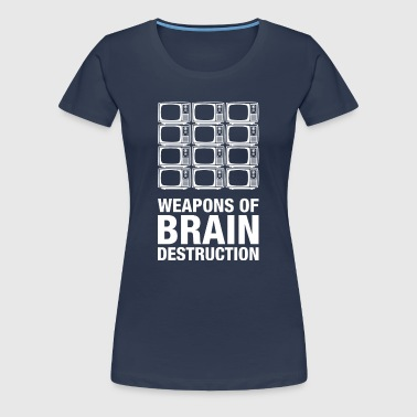 Weapons of Brain Destruction - Women's Premium T-Shirt