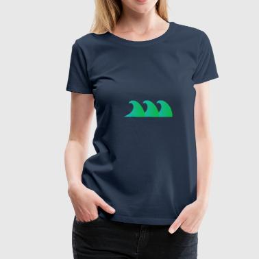 Waves - Women's Premium T-Shirt