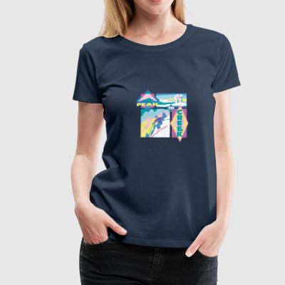 Peak to creek - Women's Premium T-Shirt