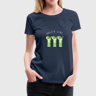 mojito girl - Women's Premium T-Shirt