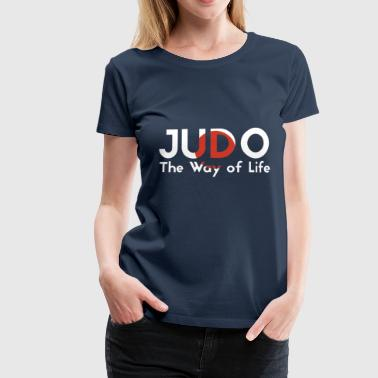 the judo way of life - Women's Premium T-Shirt