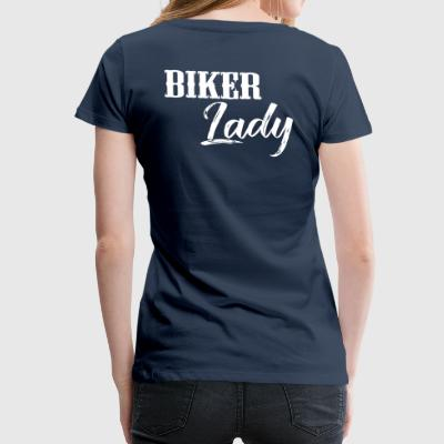 Biker Lady - Women's Premium T-Shirt