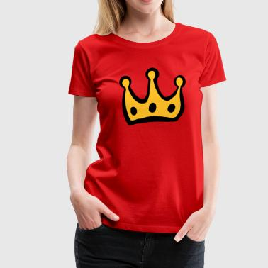 krone/crown - Women's Premium T-Shirt
