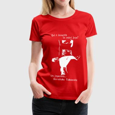 invention de la mini jupe - T-shirt Premium Femme