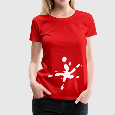 Klecks Farbklecks - Frauen Premium T-Shirt