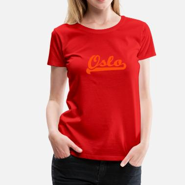 Plot Printing geo_oslo_team_spirit_1c - Women's Premium T-Shirt