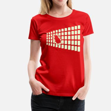 Breakout design_2colour - Women's Premium T-Shirt