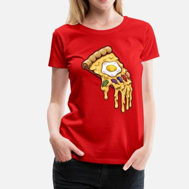 Funny Pizza Infinity Pizza - Women's Premium T-Shirt
