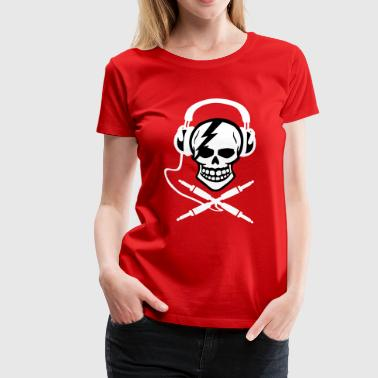 Pirate music, pirate music piracy Headphones - Women's Premium T-Shirt