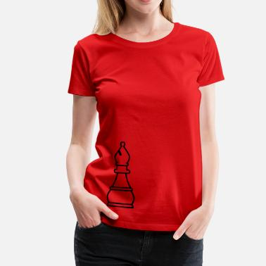 Bishop Chess Bishop - Women's Premium T-Shirt