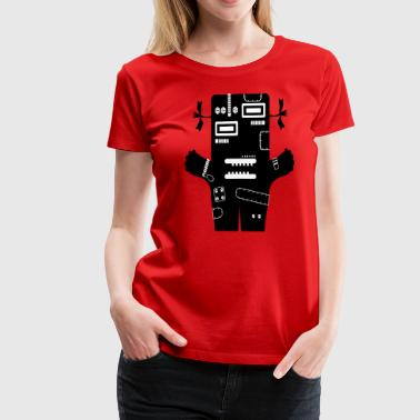 Livia - Monster Collection Tech - Camiseta premium mujer