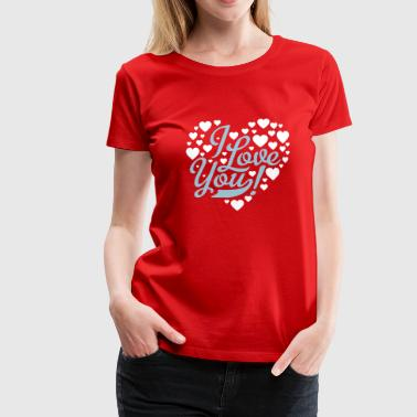 Ik Hou Van Jou i love you - Women's Premium T-Shirt