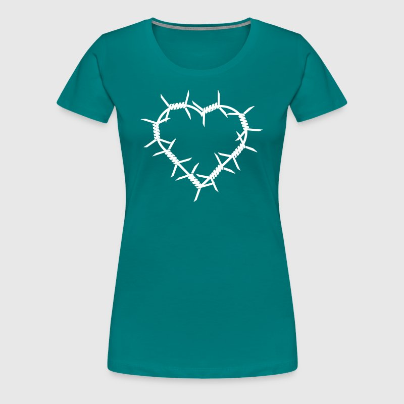 Barbed Wire Heart by muli84 | Spreadshirt