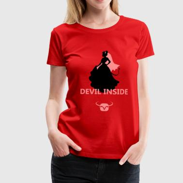 Devil inside - Frauen Premium T-Shirt