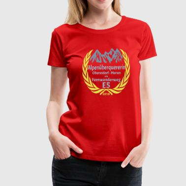 Gold Flex Alpine Crosser E5 2018 - Women's Premium T-Shirt