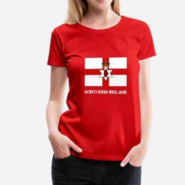 Flag Northern Ireland Northern Ireland flag - Women's Premium T-Shirt