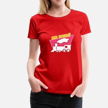 Tooting Who Tooted? - Women's Premium T-Shirt