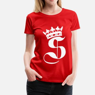 Swagalicious Swaggance King - T-shirt Premium Femme