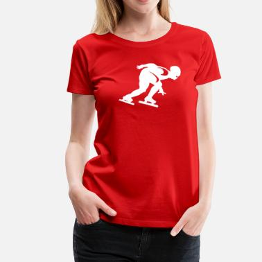 Shorttrack shorttrack - Frauen Premium T-Shirt