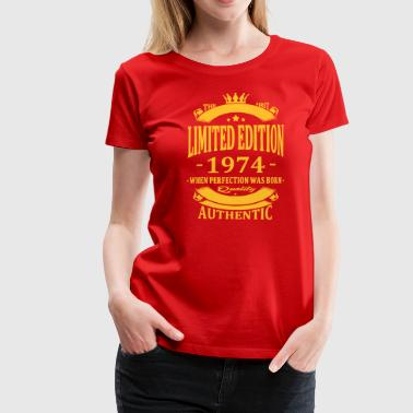 Limited Edition 1974 - Vrouwen Premium T-shirt