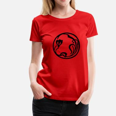 Art Nouveau Art Nouveau Circle 2 - Women's Premium T-Shirt