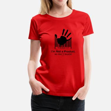 Online Store 02-02 Do not touch - do not touch - Womancontest - Women's Premium T-Shirt
